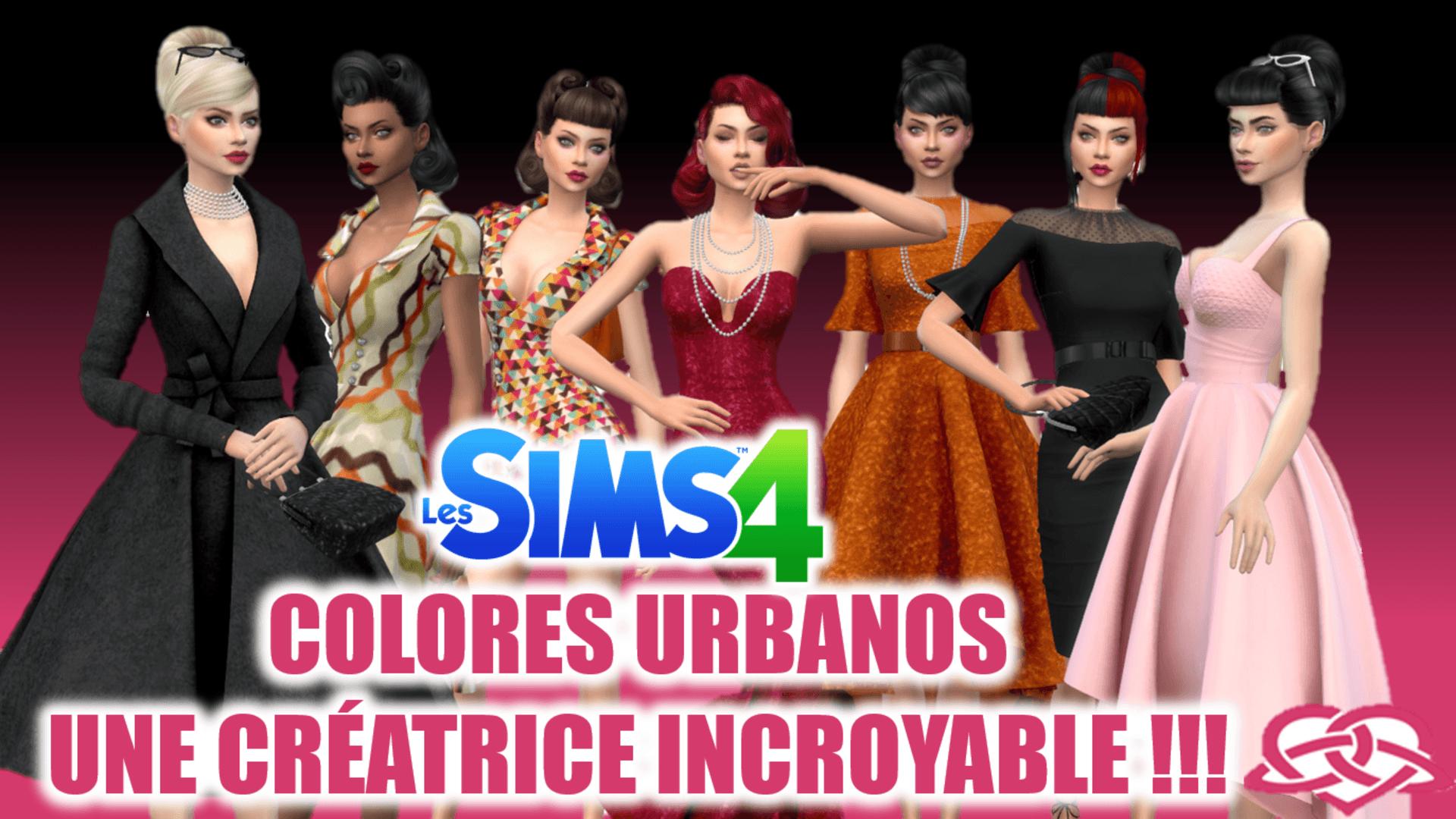 Colores Urbanos Sims 4
