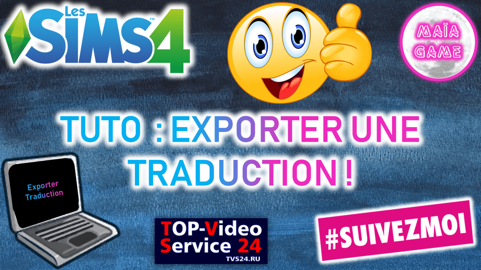 Tuto exporter une traduction Sims 4