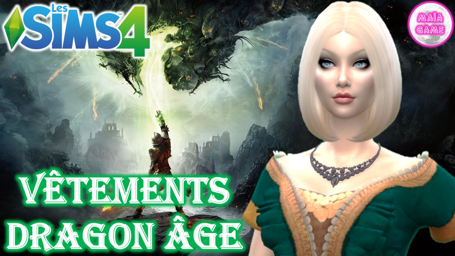 Dragon Age sims 4