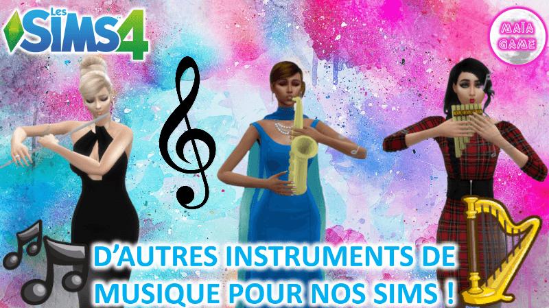 Miniature instruments musique (1)